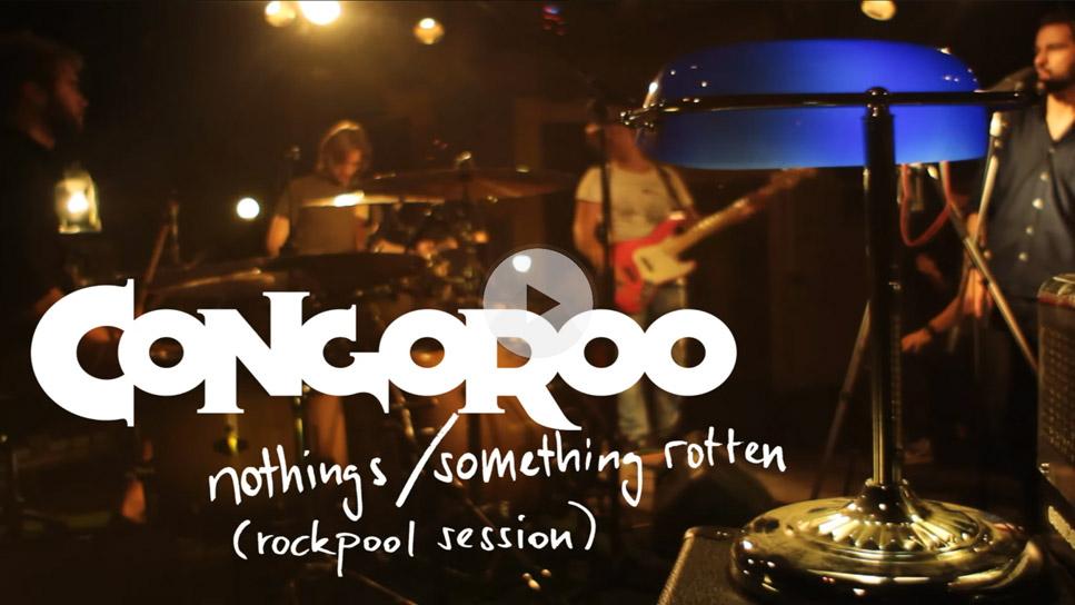 Screenshot aus dem Musikvideo Congoroo - Nothings/ Somethings Rotten