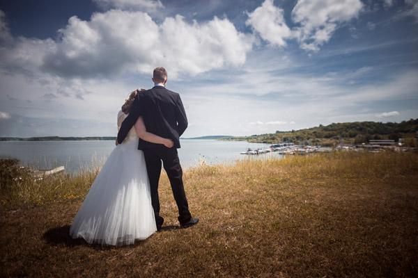Brautpaar am Geiseltalsee